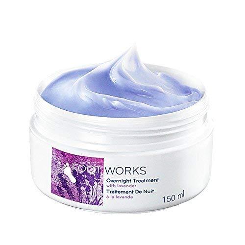 Footworks – Avon, Fußcreme mit Lavendel zur Behandlung über Nacht, 150ml