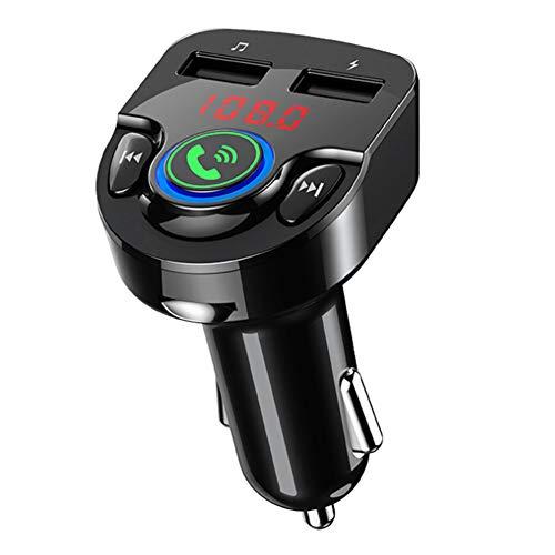 Transmisor FM Bluetooth para tarjeta de memoria manos libres para automóvil Reproductor MP3 G32 12-24 V A2DP Accesorio para automóvil (negro)(negro)