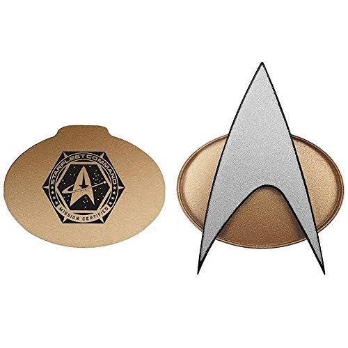 Our #7 Pick is the Star Trek Next Generation Bluetooth Communicator Badge with Sound Effects