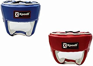 Xpeed Terminator Contest Boxing Headguard Leather Ideal for Men's (Senior) Available Size Large