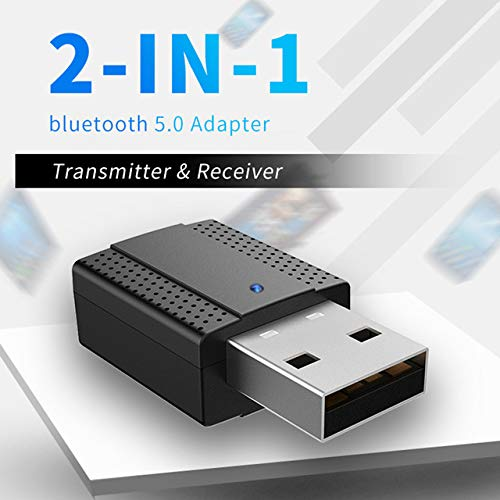 LFJNET Best Choice USB Bluetooth Transmitter Receiver 2-in-1 Wireless Audio Adapter Bluetooth 5.0 High Speed WiFi Ethernet Wireless
