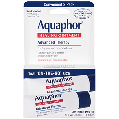 Aquaphor Advanced Therapy Healing Ointment Skin Protectant To Go Pack, 2-0.35 Ounce Tubes