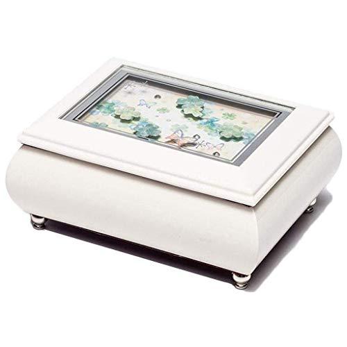 BWCGA Joyería de Caja - Mano de joyería Creativa del Collar de la Caja de almacenaje de la joyería Caja de Trompeta