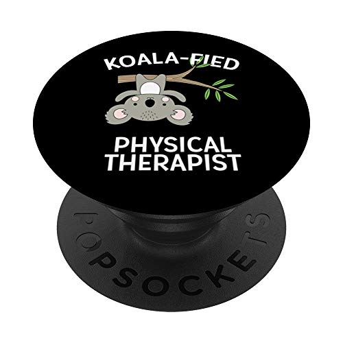 Cute Koala PT Gift Physical Therapy Pun Appreciation PopSockets Grip and Stand for Phones and Tablets