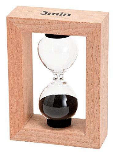 FunScience『砂時計3分計木製フレーム』
