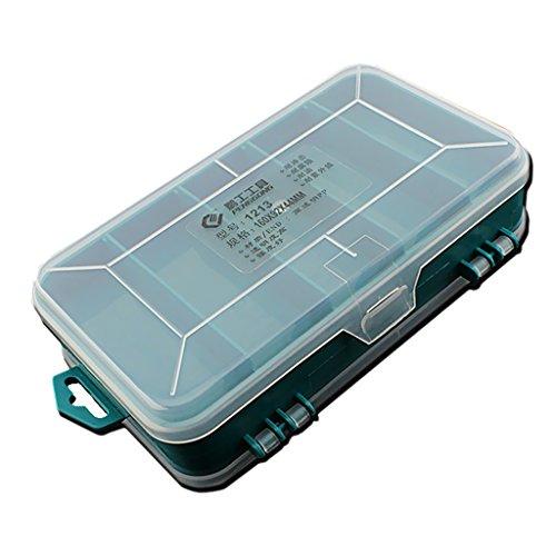 Sortierbox Sortierkoffer Kleinteilemagazin Sortiment Kiste Kleinteile Box Kasten 8 Fächer