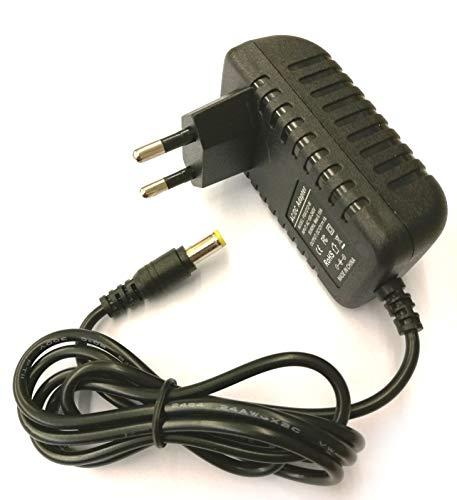 Netzteil Universal 110V / 230V AC auf DC 12V bis 500mA dauerhaft/Stecker 5,5mm auf 2,1mm Pluspol Innen