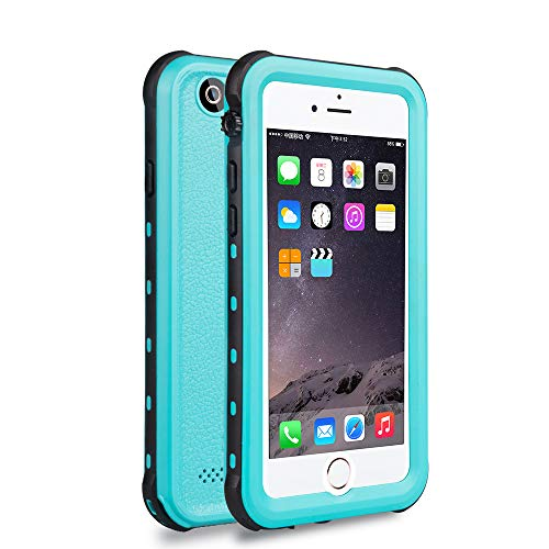 ChuWill Funda Impermeable iPhone 6 Plus, Carcasa iPhone 6s Plus, Certificado IP68 Antigolpes Sumergible Protección 360º Funda para iPhone 6/6S Plus(5.5 Inch) - Azul