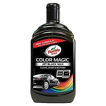 Turtle Wax Colour Magic Jet Black Car Polish 500ml