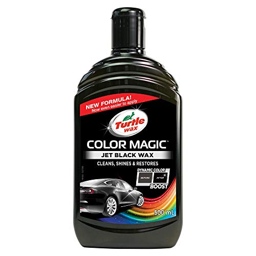 Turtle Wax Colour Magic Jet Black Car Polish 500ml