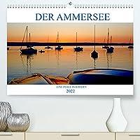 Der Ammersee (Premium, hochwertiger DIN A2 Wandkalender 2022, Kunstdruck in Hochglanz): Farbige Fotografien vom Ammersee (Monatskalender, 14 Seiten )