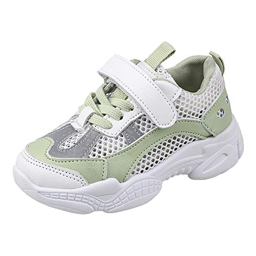 Toddlers Kids Sneakers Mesh Breathable Lightweight Soft Soled Running Sports Shoes
