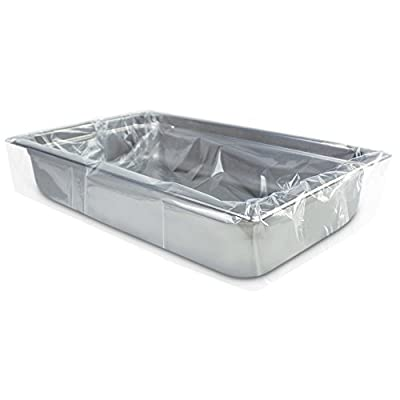 PanSaver Eco Oven Safe Pan Liner, Full Pan Shallow