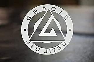 Vinyl Sticker Gracie Jiu Jitsu Die Cut Gear for Laptop Car or Truck Bumper Custom Vintl Stickers Cup Window BT2696