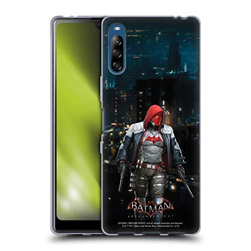 Head Case Designs Oficial Batman: Arkham Knight Capucha Roja Personajes Carcasa de Gel de Silicona Compatible con Sony Xperia L4