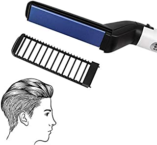 Beard Straightener for men, Multifunctional Hair Styler Electric Hot Comb and Beard Straightening Brush Hair Straightening Comb with Dual Voltage 110-240V Great for Trave [並行輸入品]