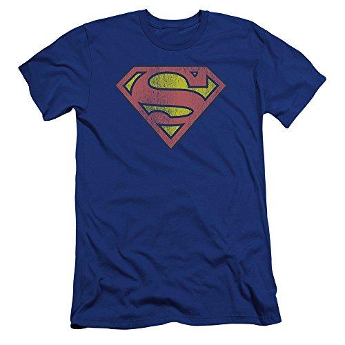 DC – Camiseta de manga corta para hombre, diseño retro con logotipo...