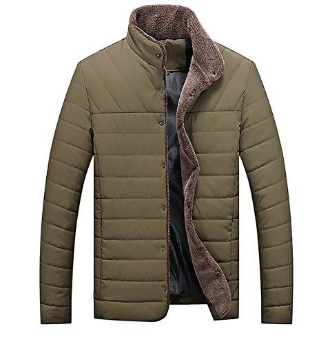 GYXYYF winterparka heren katoen gevoerde jas heren dikke warm fleece jack bovenkleding heren plus maat 4XL 5XL