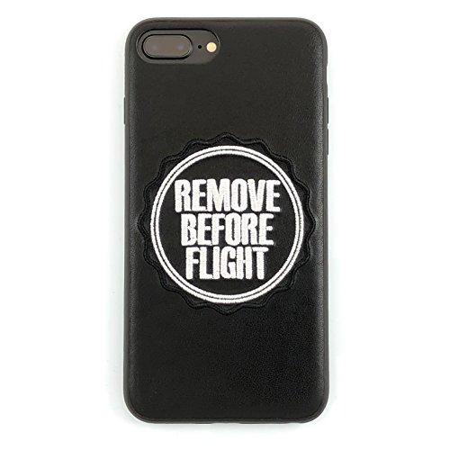 Remove Before Flight - Custodia in pelle per iPhone