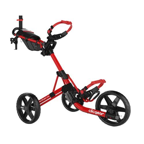 Clicgear 4.0 Chariot de golf manuel (noir/rouge)