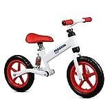 Hejok Laufrad Kinder, Laufrad Baby Laufrad Baby Walker Spielzeug FüR 2-6-JäHrige No Pedal Kids Lernautos, White