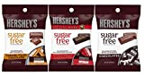 Sugar Free Hershey Chocolate Variety 3 Pack - Caramel Filled, Special Dark, Milk Chocolates