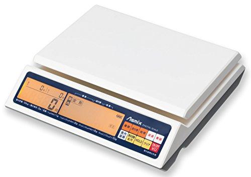 アスカ 料金表示デジタルスケール 最大計量10kg 国内と国際郵便料金を瞬時に表示 バックライ DS011