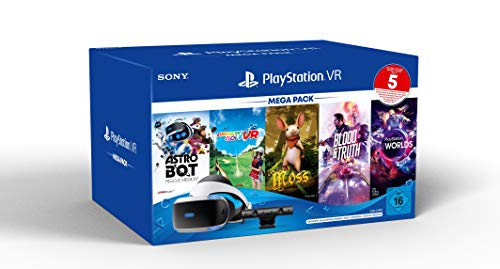 Sony Interactive Entertainment PS VR Mega Pack 3 inkl. PS VR-Headset / PS Camera / PS Camera-Adapter / 5 Spiele (Gutscheincode)