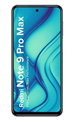 Redmi Note 9 Pro Max (6GB RAM,128GB Storage) – 64MP Quad Camera Array,Latest Snapdragon 720G ; Gorilla Glass 5 Protection