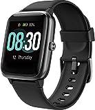 UMIDIGI Montre Connectée, Montre Intelligente Homme Femmes Uwatch3 Smartwatch Tracker d'activité avec Moniteur de fréquence Cardiaque, Smart Watch 5ATM étanche pour téléphone Android iPhone