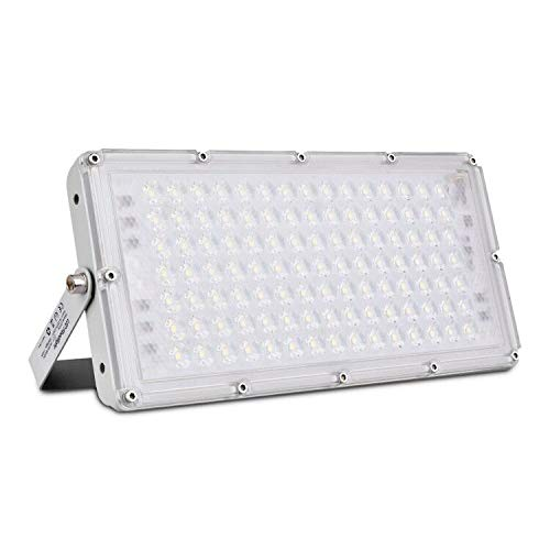 100W Proyector LED exterior IP65 Impermeable Foco exterior 10000 lumen 6500K Blanco frío Foco LED Led Floodlight para...