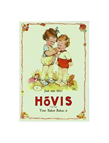 Ecool Just one bite hovis your baker bakes it retro shabby chic vintage style picture metal wall plaque sign