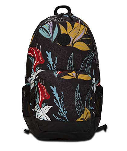 Hurley U Renegade II Printed Backpack Mochilas, Hombre, Oil Grey, 1SIZE