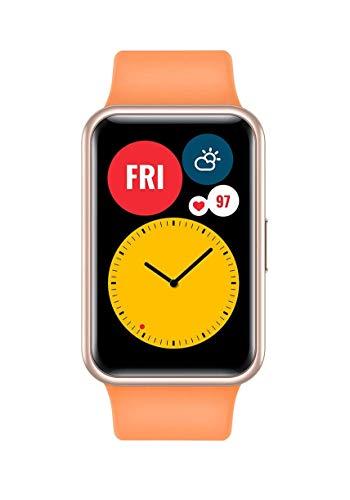 "HUAWEI Watch Fit AMOLED 4,17 cm (1.64"") Plata GPS (satélite) Watch Fit, 4,17 cm (1.64""), AMOLED, Pantalla táctil, GPS (satélite), 21 g, Plata"