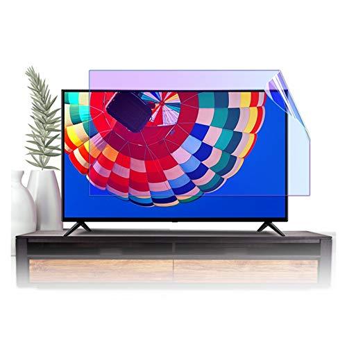 GFSD Protector de Pantalla de TV Antideslumbrante Adecuado para LCD 32-75 Pulgadas, LED, 4K OLED Y QLED Y Pantalla Curva Filtro de Luz Azul Anti, Varios Tamaños