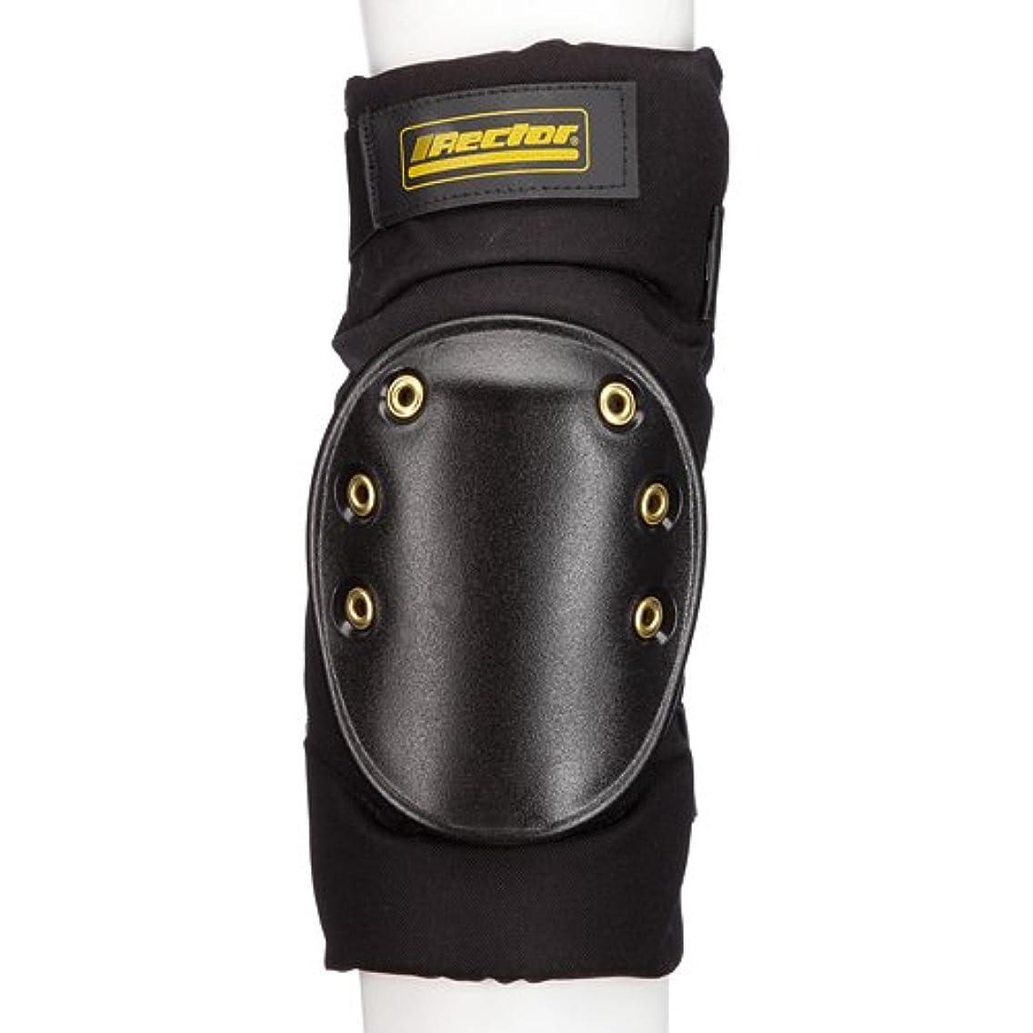 Rector 3100-2-00-0 Fat Boy Knee Pad, Nylon Fabric, Small, Black (Pack of 2)