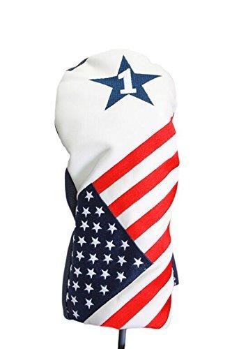 USA Patriot Golf 2016 Vintage Retro Patriotische Schlägerhaube, passend für 460cc Fahrer