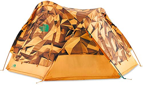 The North Face Unisex's Homestead Dome 3 Tent, Zinnorglowplypt/Citrinylw, één maat