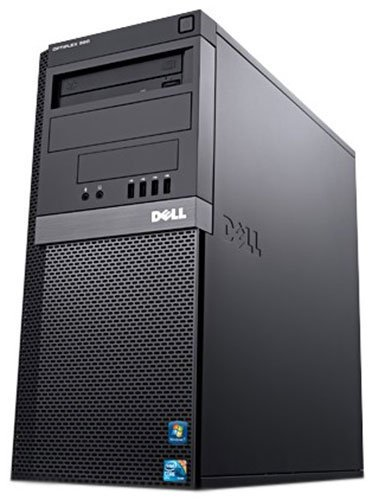 Dell OptiPlex 990 MT Quad Core i5-2400 4GB 250GB DVDRW Windows 10 Professional 64Bit Desktop Computer (Refurbished)