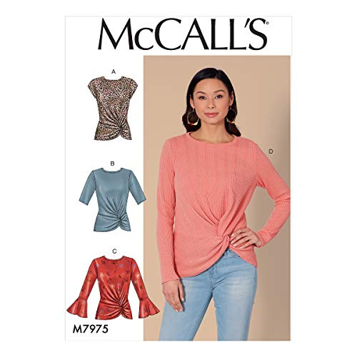 McCall's M7975, Naaipatroon, Sjabloon, Papier, Wit, VARIOUS