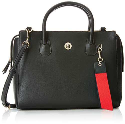 Tommy Hilfiger Dames Charming Tommy Satchel Hengseltas, 15,5 x 26 x 33,5 cm