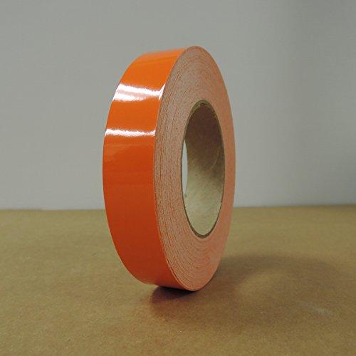"1"" 3M Vinyl Striping 150' 25 Colors Available (Orange)"