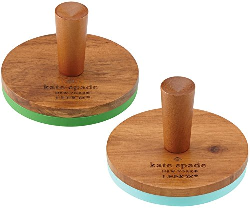 KSNY All in Good Taste Wood Cookie Press, Brown, Set of 2 by Kate Spade New York