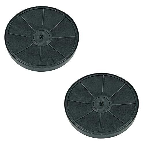DL-pro 2x filtri al carbone per AEG Electrolux 9029793776 50294677005 EFF54 Whirlpool 481281718521 cappa aspirante