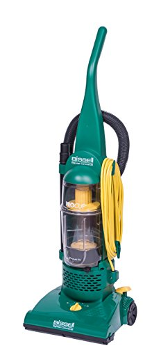 Bissell BigGreen BGU1937T 13.5' Pro Cup Bagless Upright Vacuum with On-Board Tools, 44' Height, 13.5' Wide, 13.2' Length, Polypropylene, 2 fl. oz. Capacity, Green