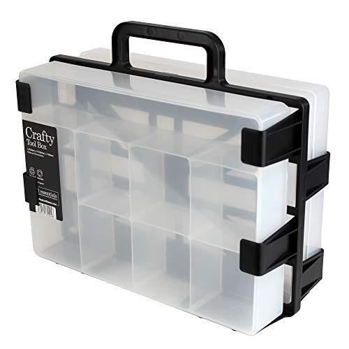 confezione da 2 contenitore in plastica per A3/o trasparente Westonboxes SRA3