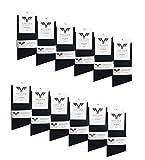 Kayhan 12 Paar Socken Black Uni size 39-42