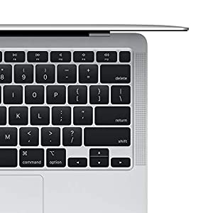 """2020 Apple MacBook Air Laptop: Apple M1 Chip, 13"""" Retina Display, 8GB RAM, 256GB SSD Storage, Backlit Keyboard, FaceTime HD Camera, Touch ID. Works with iPhone/iPad; Silver"""
