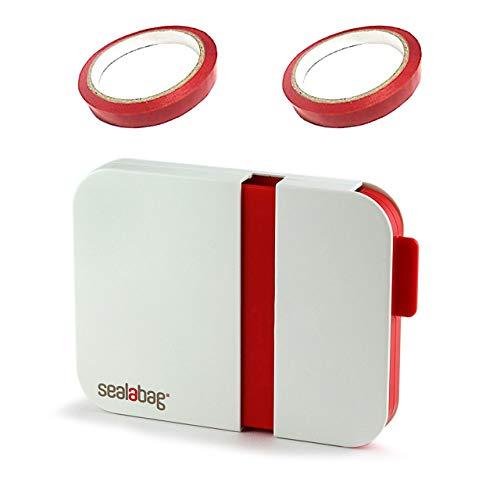 [Ajicai] シーラー 機 家庭用 ハンディ バック テープ 鮮度 しっかり 密封 テープ2本付き