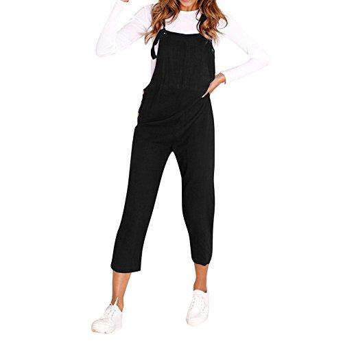 STRIR Mujer Petos Casual Pantalones Holgados